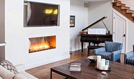 Studio City Linear Fires 嵌入式燃烧室 Idea