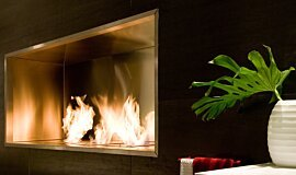 Fuori Salone 2010 Builder Fireplaces 嵌入式燃烧室 Idea