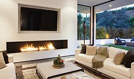 Rising Glen Builder Fireplaces 生物乙醇燃烧器 Idea