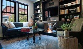 New York Loft Builder Fireplaces 嵌入式燃烧室 Idea