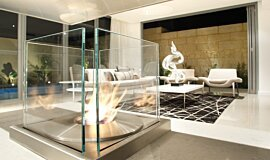 David Reid Display Residential Fireplaces 生物乙醇燃烧器 Idea