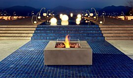 Commercial Space Landscape Fireplaces 壁炉家具 Idea