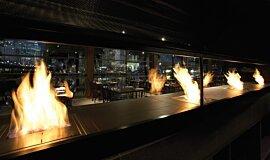 Hurricane's Grill & Bar Builder Fireplaces 生物乙醇燃烧器 Idea