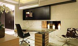 Pepe Calderin Design Builder Fireplaces 生物乙醇燃烧器 Idea