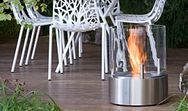Chelsea Flower Show Landscape Fireplaces 整体壁炉 Idea