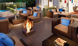 Kimber Modern Hotel Hospitality Fireplaces 整体壁炉 Idea