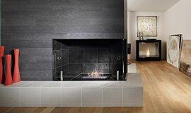 Merkmal Showroom Traditional Fireplaces 嵌入式燃烧室 Idea