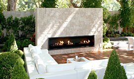 Melbourne International Garden and Flower Show Landscape Fireplaces 嵌入式燃烧室 Idea