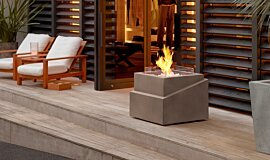Commercial Space Landscape Fireplaces 整体壁炉 Idea