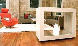 Jacksons Landing See-Through Fireplaces 设计壁炉 Idea