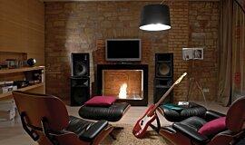 Cottage Lösch für Freunde See-Through Fireplaces 设计壁炉 Idea