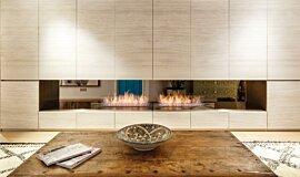 Fujiya Mansions Builder Fireplaces 生物乙醇燃烧器 Idea