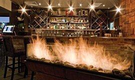 Hippo Creek African Grill Hospitality Fireplaces 生物乙醇燃烧器 Idea