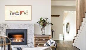 Firebox 720CV 嵌入式燃烧室 - In-Situ Image by EcoSmart Fire