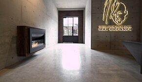 Firebox 1100CV 嵌入式燃烧室 - In-Situ Image by EcoSmart Fire