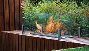 Twin Feet Fixings 壁炉配件 - In-Situ Image by EcoSmart Fire