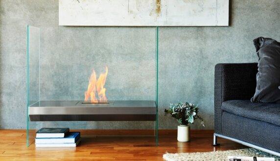 Merkmal Japan - Igloo 设计壁炉 by EcoSmart Fire