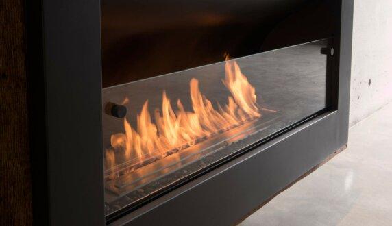 Max Brenner - Firebox 1100CV Curved Fireplace by EcoSmart Fire