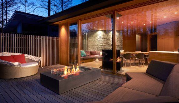Private Residence - Wharf 壁炉家具 by EcoSmart Fire