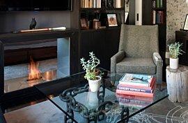 壁炉安全配件 Fireplace - In-Situ Image by EcoSmart Fire