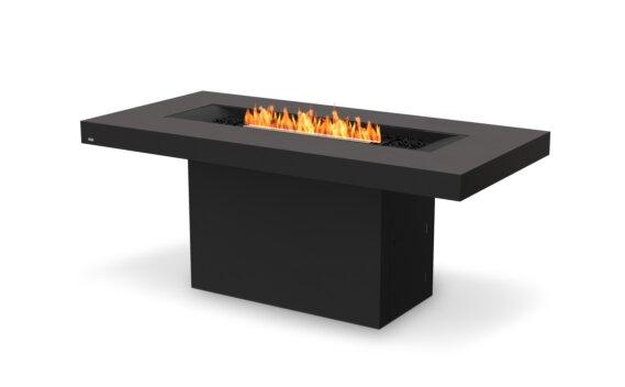 Gin 90 (Bar) 壁炉家具 - Ethanol - Black / Graphite by EcoSmart Fire