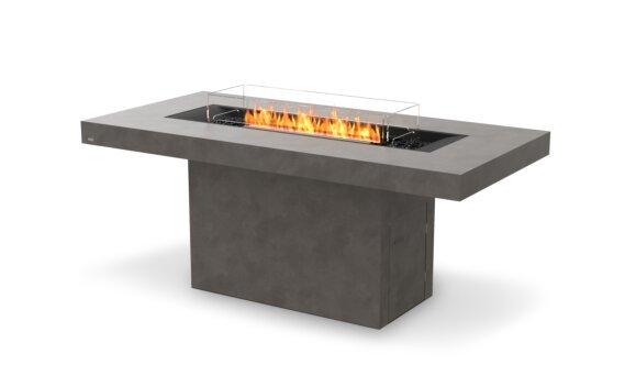 Gin 90 (Bar) 壁炉家具 - Ethanol - Black / Natural / Optional Fire Screen by EcoSmart Fire