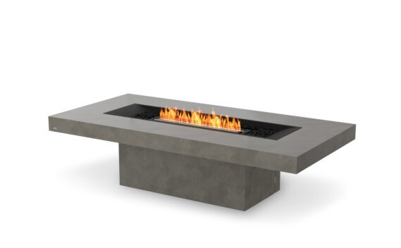Gin 90 (Chat) 壁炉家具 - Ethanol - Black / Natural by EcoSmart Fire