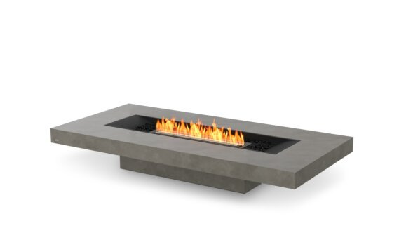 Gin 90 (Low) 壁炉家具 - Ethanol - Black / Natural by EcoSmart Fire