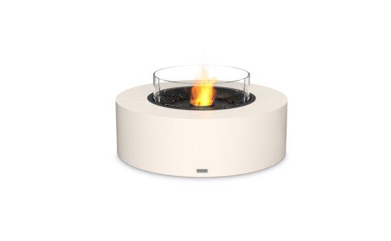 Ark 40 壁炉家具 - Ethanol - Black / Bone / Optional Fire Screen by EcoSmart Fire