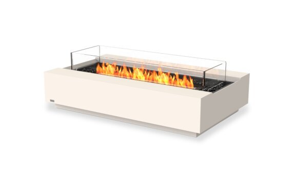 Cosmo 50 壁炉家具 - Ethanol - Black / Bone / Optional Fire Screen by EcoSmart Fire