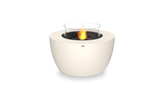 Pod 40 整体壁炉 - Ethanol - Black / Bone / Optional Fire Screen by EcoSmart Fire